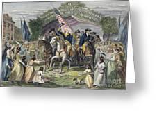 Washington: Trenton, 1789 Greeting Card