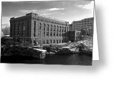 Washington Water Power Post Street Station - Spokane Washington Greeting Card by Daniel Hagerman
