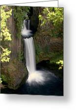 Washington Waterfall Greeting Card