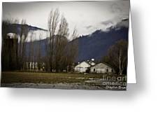 Washington Winter Day Greeting Card