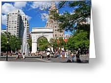 Washingtone Square New York Greeting Card