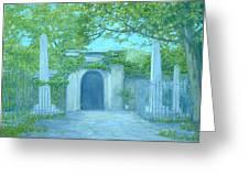 Washingtons Grave Greeting Card