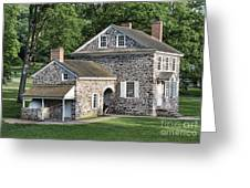 Washington's Headquarters At Valley Forge Greeting Card