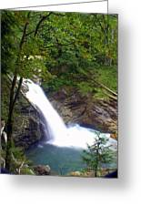 Washngton Falls1 Greeting Card