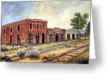 Washoe City Nevada Greeting Card by Evelyne Boynton Grierson