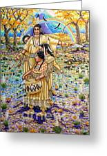 Washoe Maidens Greeting Card