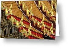 Wat Benjamabophit Greeting Card