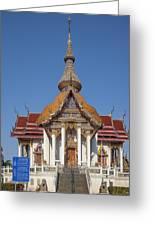 Wat Chaimongkron Phra Wihan Dthcb0088 Greeting Card