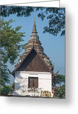 Wat Jed Yod Phra Ubosot Dthcm0967 Greeting Card