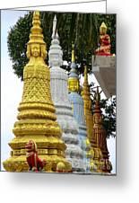 Wat Krom 31 Greeting Card