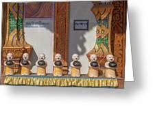 Wat Mae Faek Luang Phra Wihan Daily Merit Bowls Dthcm1879 Greeting Card