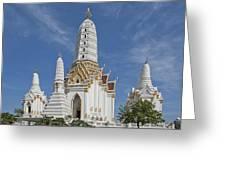 Wat Phitchaya Yatikaram Prangs Dthb1186 Greeting Card