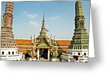 Wat Po Bangkok Thailand 13 Greeting Card