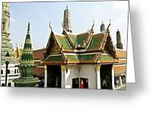 Wat Po Bangkok Thailand 14 Greeting Card