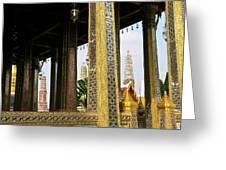 Wat Po Bangkok Thailand 22 Greeting Card