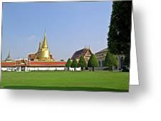 Wat Po Bangkok Thailand 37 Greeting Card