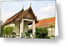 Wat Po Bangkok Thailand 39 Greeting Card