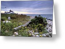 Watch Hill Lighthouse - Fm000062 Greeting Card