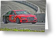 Watch Out Audi  Greeting Card