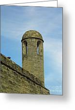 Watch Tower On The Castillo Greeting Card