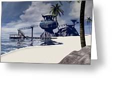 Watchtower Beach Greeting Card
