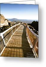 Watchtower Lookout, Ben Lomond, Tasmania Greeting Card