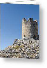 Watchtower Of Heaven 2  Greeting Card