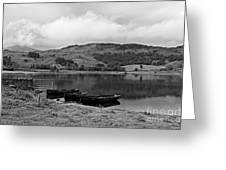 Watendlath Tarn In The Lake District Cumbria Greeting Card