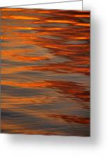 Water Abstract 1 1 14 Greeting Card