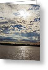 Water And Sky Greeting Card