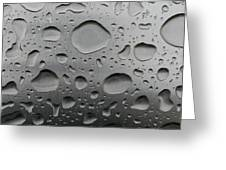 Water And Steel Greeting Card