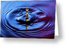 Water Art  Greeting Card