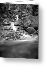 Water Cascade Greeting Card