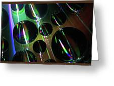 Water Droplets 1 Greeting Card
