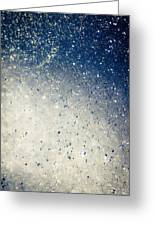 Water Droplets Greeting Card