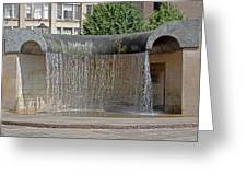 Water Feature - Derby Greeting Card