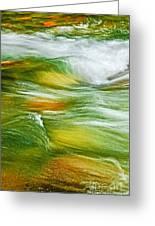 Water Flow 2 Greeting Card