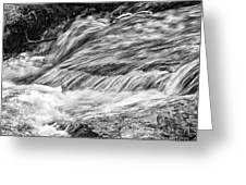 Water Flow Greeting Card