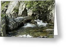 Water Flowing 5 Greeting Card