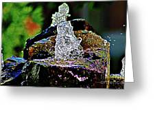 Water From Stone Greeting Card