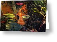 Water Garden Series A Greeting Card
