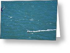Water Glider Greeting Card