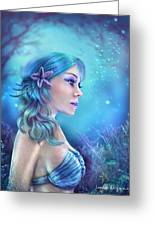 Water Goddess Greeting Card