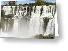Water Jumps Greeting Card