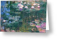 Water Lilies 1917 4 Greeting Card