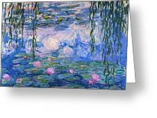 Water Lilies 1919 1 Greeting Card