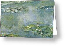 Water Lilies 21 Greeting Card