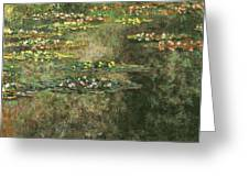Water Lilies 4 Greeting Card