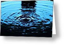Water Meditation Greeting Card