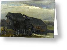 Water Mill At Opwetten Vincent Van Gogh Greeting Card